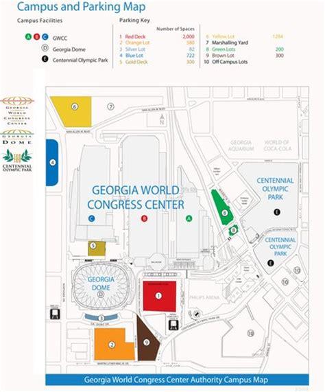 georgia world congress center floor plan georgia world congress center maplets