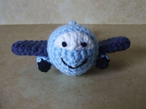 amigurumi airplane pattern free ermplane named big jet the craft frog crochet toys