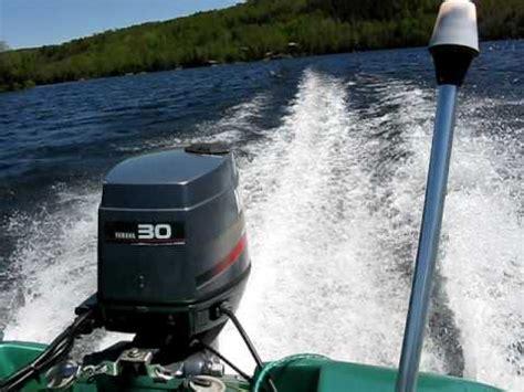 1996 yamaha 30 hp short shaft 2 stroke outboard motor