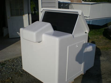 custom aluminum boat consoles custom console and outboard bracket the hull truth