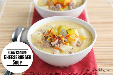 taste of home cheeseburger soup cooker cheeseburger soup taste and tell