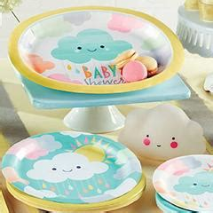 City Baby Shower Plates by Baby Shower Supplies Baby Shower Decorations
