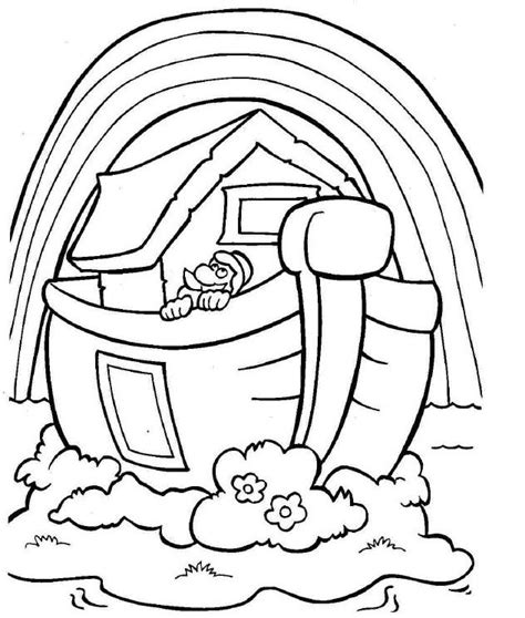 children s coloring pages noah s ark the world s catalog of ideas