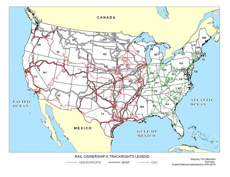 railroad map usa bnsf railroad map www pixshark images galleries