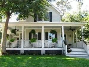 Wrap Around Porch Home Plans by Southern Country Style Homes Southern Style House With