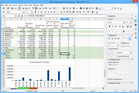 Open Office Calc Templates open office 2016 word processor spreadsheets compatible