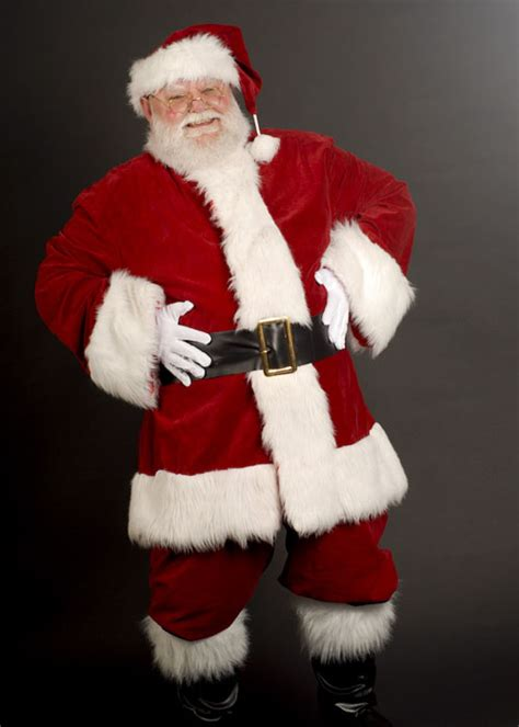 adult mens luxury velvet santa claus costume adult luxury