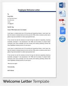welcome letter template 31 hr welcome letter template free sle exle