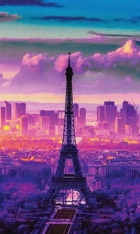 wallpaper galaxy paris free sunrise in paris jpg phone wallpaper by twifranny