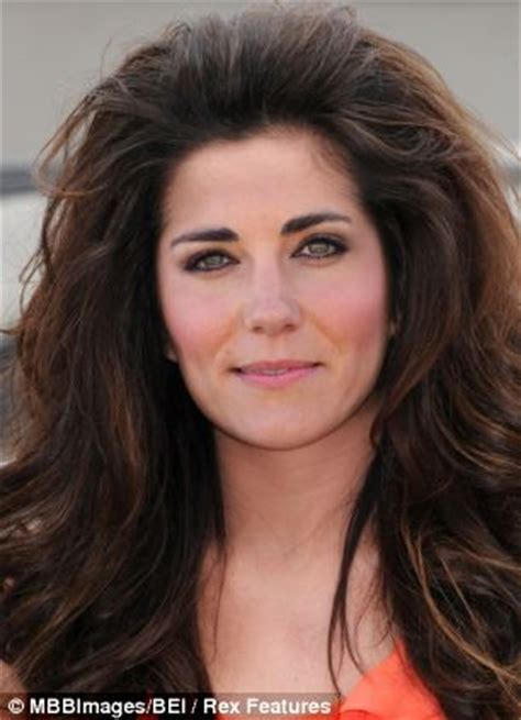 kate middleton s shocking new hairstyle how kate middleton would look if she stole some celebrity