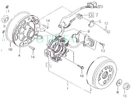 Stator Comp Spul Honda Supra 31120kev881 otista mengenal komponen mesin honda 6