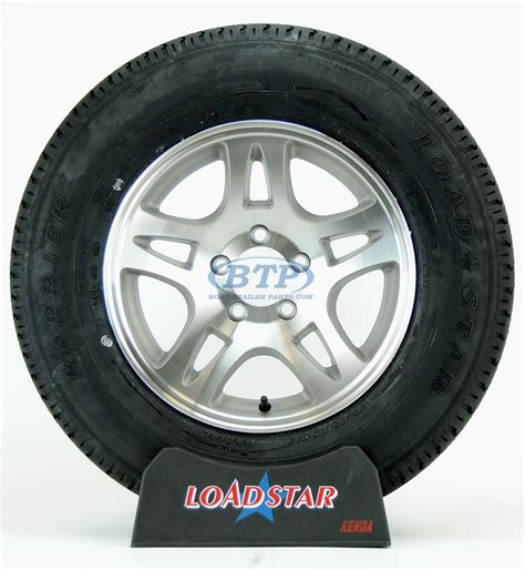 boat wheels and tires boat trailer tire st205 75r15 radial on aluminum wheel 5