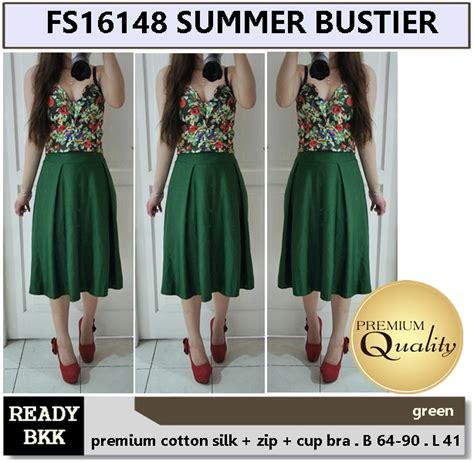 Supplier Baju Summer Hq summer bustier supplier baju bangkok korea dan hongkong premium quality import thailand