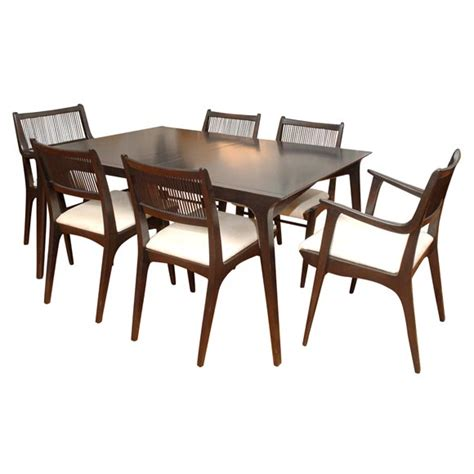 drexel dining room set drexel quot profile quot line dining set at 1stdibs