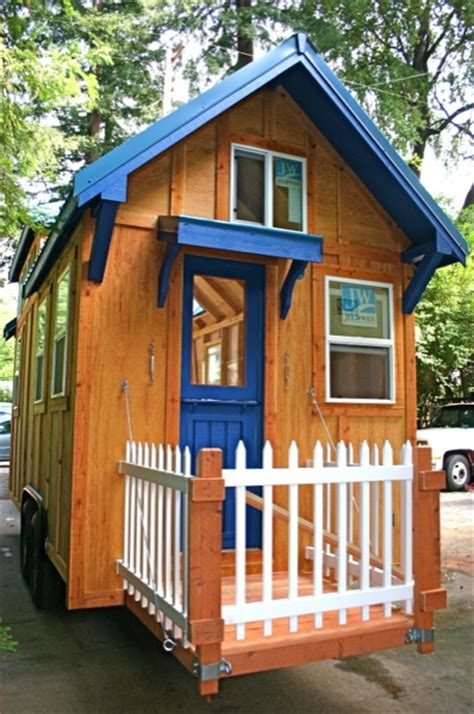 amazingly functional 136 sq ft molecule tiny home on wheels