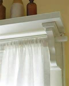 Diy window shelf w curtain rod holder comfy home ideas pinterest