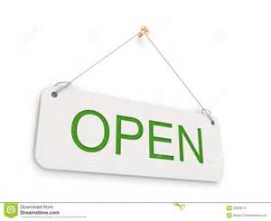 open open sign stock photography image 22828112