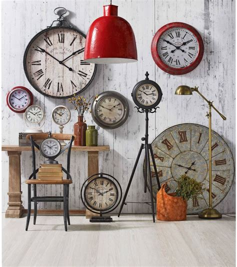 17 best ideas about wall of clocks on