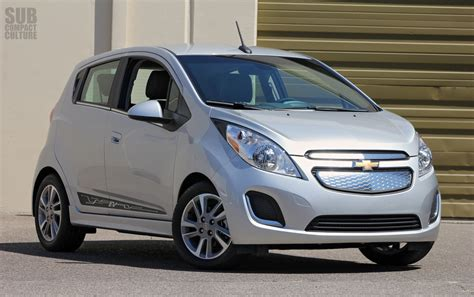 Chevrolet Small Cars Review 2014 Chevrolet Spark Ev Subcompact Culture The