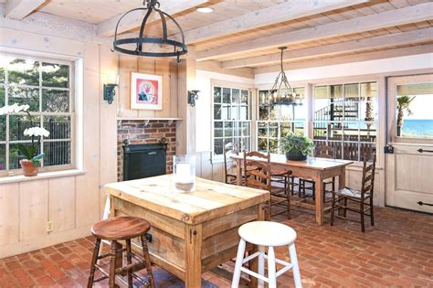 brick floor in kitchen cottage style homes best craftsman 24 million dollar malibu estate see this house cococozy