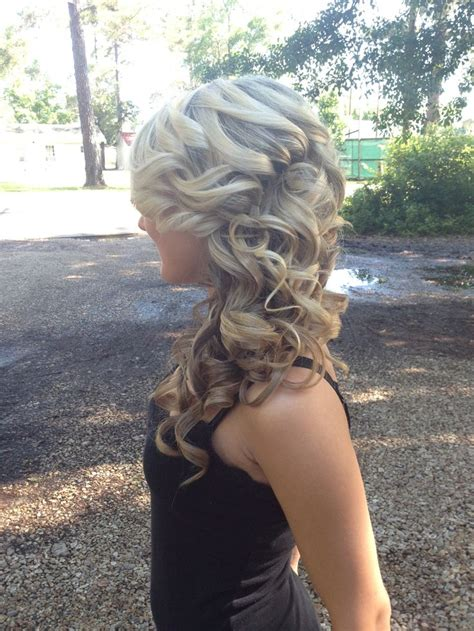 how to do homecoming hairstyles prom hair updo curly hair blonde hair cute hairstyles