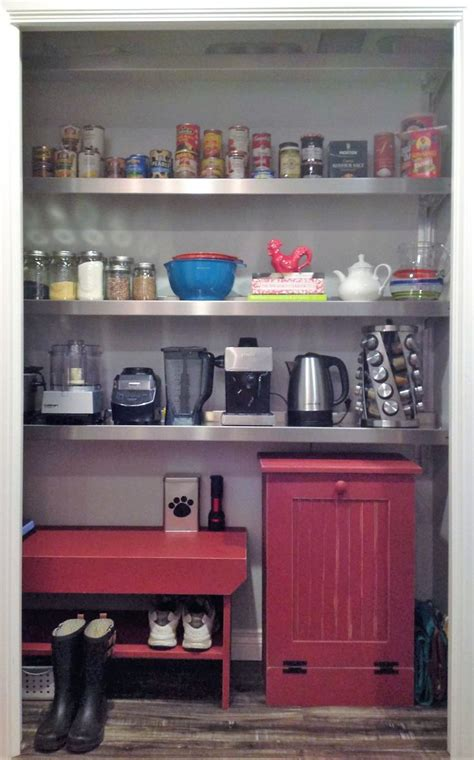 Closet To Pantry Conversion by 1000 Ideas About Pantry Shelving On