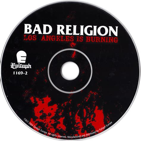 Los Angeles Burning los angeles is burning discography the bad religion