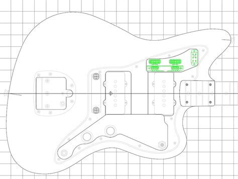 strat routing template telecaster blank dimensions crafts