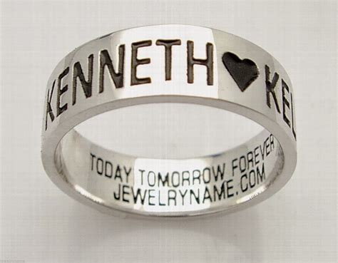 affordable personalized promise rings for home