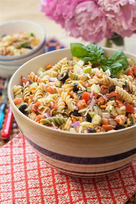 classic pasta salad classic pasta salad 187 tide and thymetide and thyme