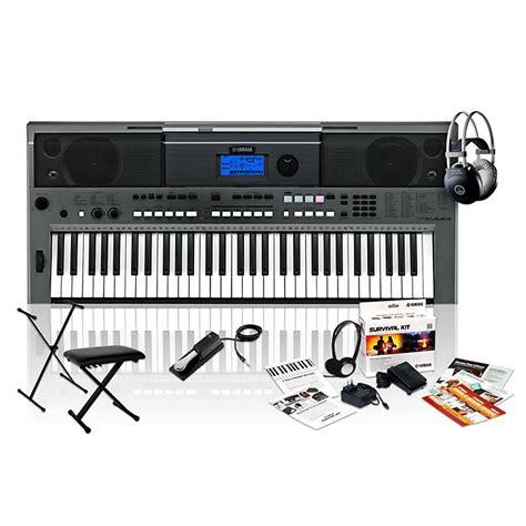 yamaha keyboard bench yamaha psr e443 with m80 mkii bench stand sustain