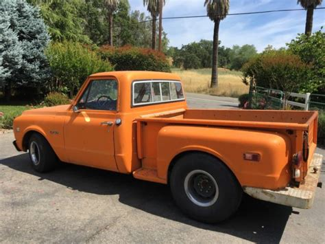 chevy short bed for sale 1970 chevy c10 pickup short bed stepside great truck for
