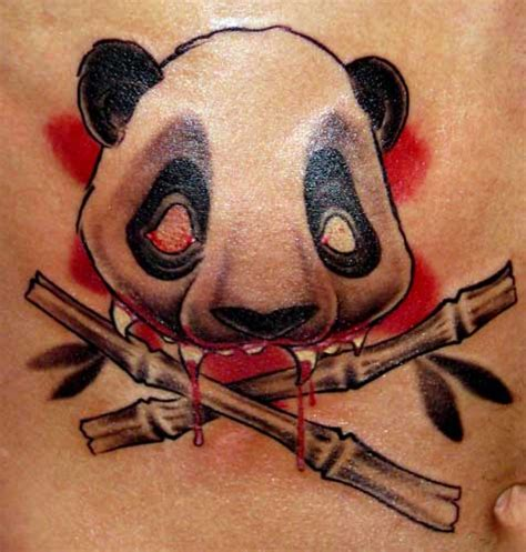new school panda tattoo looking for unique new school tattoos tattoos killer panda