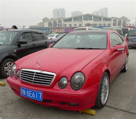 light pink mercedes mercedes benz clk
