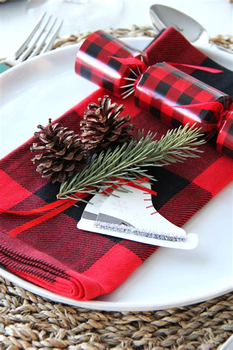 christmas place setting ideas place setting ideas a pretty in the suburbs