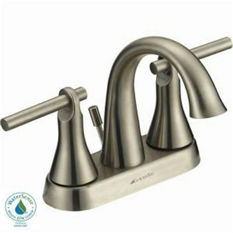 glacier toomba 4 in 2 handle high arc bathroom faucet