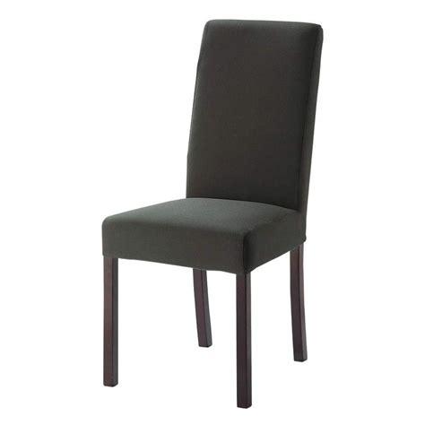 housse de chaise grise housse grise margaux maisons du monde