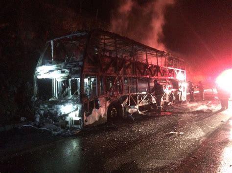 tur bus se incendia en ruta 5 al norte de la serena otra vez se incendia tur bus elantro