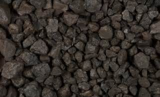 black volcanic lava rock