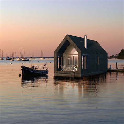Small Homes On The Water A Houseboat With Style By Nrja