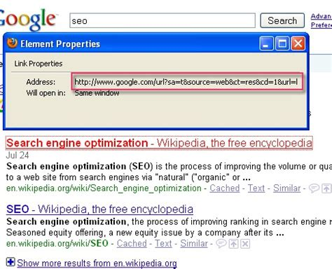 google images redirect notice how to remove redirects from google serps search engine