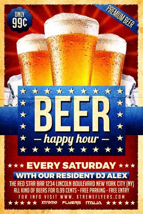 Beer Flyer Template