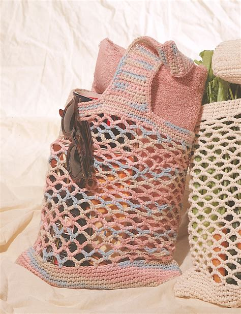 market tote bag crochet pattern market bag in lily sugar and cream solids crochet