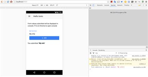 ionic2 tutorial github github seanmavley ionic2 forms simple ionic 2 forms how to