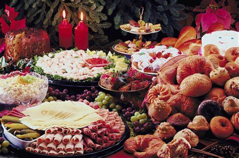 traditional christmas food