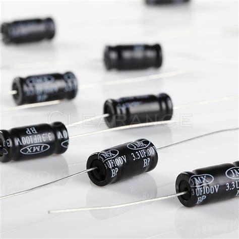 non polarized electrolytic audio capacitor 3 3uf 100v 10 pk free shipping ebay
