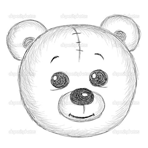 draw drow easy teddy drawing drawing arts sketch