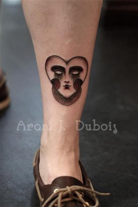 heartbeat tattoo on leg heart leg tattoo by scapegoat tattoo