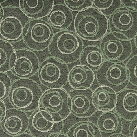 durable upholstery fabric green white overlapping circles durable upholstery fabric