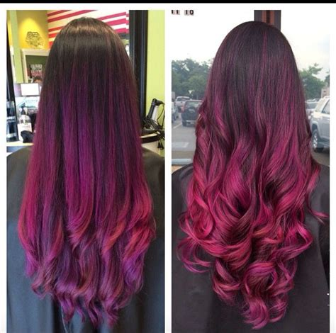 orchid hair color absolutely gorgeous ombr 233 color melt purple melts into